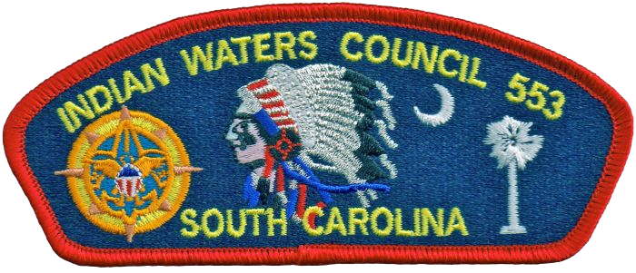 Image of the Indian Waters Council Patch